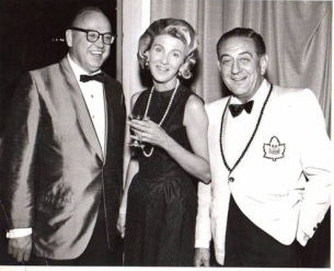 Alan Gornick, Susie Packer Avis & Guy Lombardo