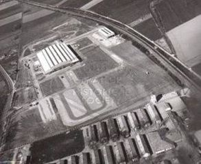 Aerial shot of Fruehauf France factory and headquarters